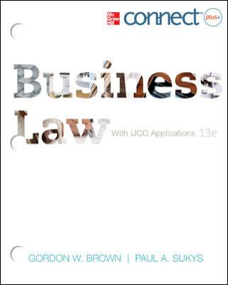 Loose-Leaf: Business Law with ConnectPlus