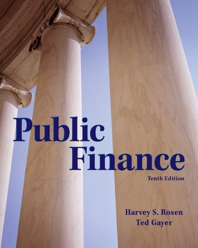 Public Finance (The McGraw-Hill Series in Economics)