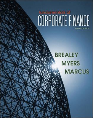 Fundamentals of Corporate Finance (McGraw-Hill/Irwin Series in Finance, Insurance and Real Esta)