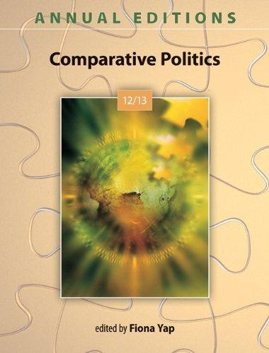 Annual Editions: Comparative Politics 12/13