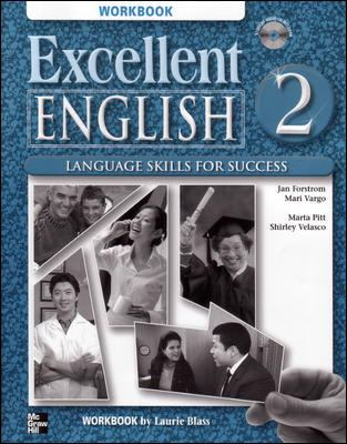Excellent English 2 Workbook with Audio CD