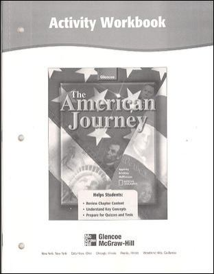 American Journey-activity Workbook