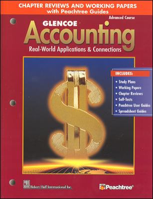 Glencoe Accounting Real world Applications & Connections