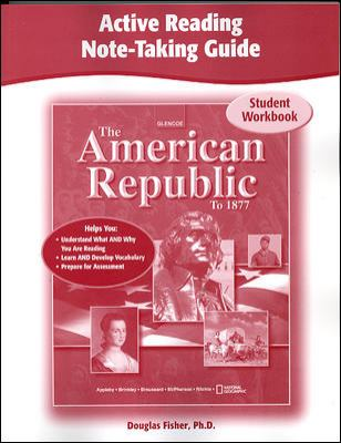 American Republic to 1877, Active Reading Note-taking Guide