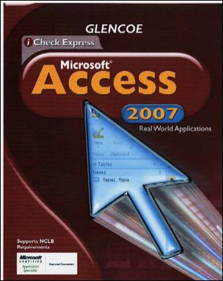 iCheck Office 2007 Access, Student Edition
