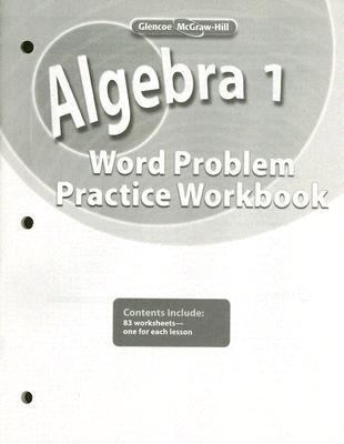 Algebra 1, Word Problems Practice Workbook