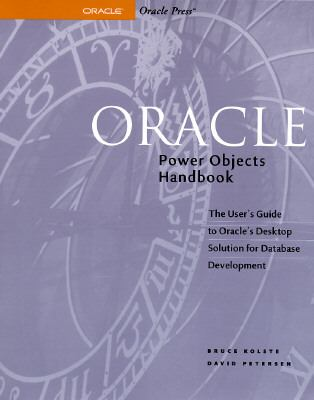 Oracle Power Objects Handbook