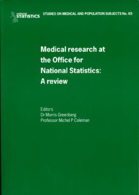 Medical Research at the Office for National Statistics: A Review