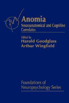 Anomia Neuroanatomical and Cognitive Correlates