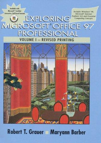 Exploring Microsoft Office 97 Professional