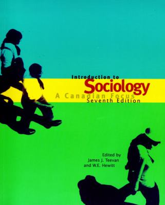 INTRO TO SOCIOLOGY: CANADIAN FOCUS (P)