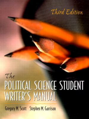 Political Science Student Writer's Man.