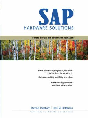 Sap Hardware Solutions Servers, Storage, and Networks for Mysap.Com