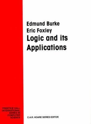Logic and Its Applications - Edmund Burke - Paperback
