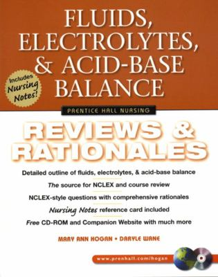 Fluids, Electrolytes, and Acid-Base Balance Reviews & Rationales