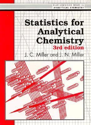 Statistics for Analytical Chemistry - James C. Miller - Paperback - 3rd ed