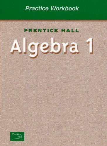 ALGEBRA 1 BY SMITH PRACTICE WORKBOOK 2001C