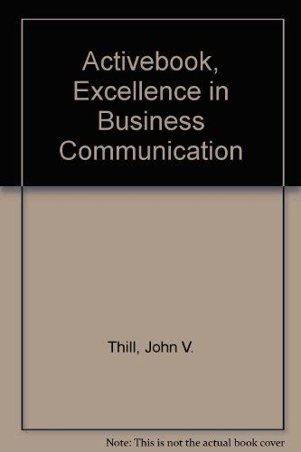ActiveBook, Excellence in Business Communication (5th Edition)