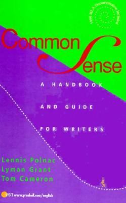 Common Sense:handbook+guide for Writers