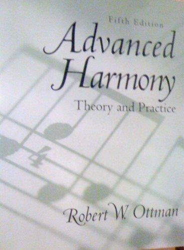 Advanced Harmony: Theory and Practice