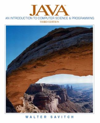 Java An Introduction to Computer Science and Programming