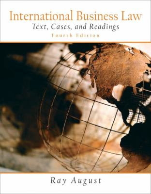 International Business Law Text, Cases, and Readings