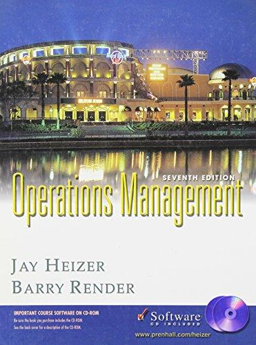 OPERATIONS MANAGEMENT: Seventh Edition