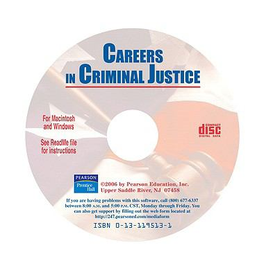 Careers in Criminal Justice-CD (Software)