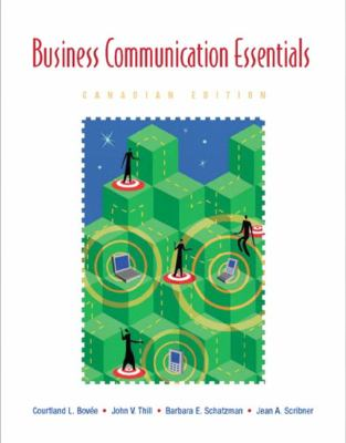Business Communication Essentials - with CD (Canadian) - Courtland L. Bovee - Paperback