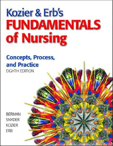 Kozier & Erb's Fundamentals of Nursing Value Pack (includes MyNursingLab Student Access  for Kozier & Erb's Fundamentals of Nursing & Prentice Hall Nurse's Drug Guide 2009)