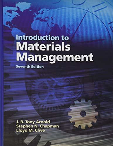 Introduction to Materials Management (7th Edition)