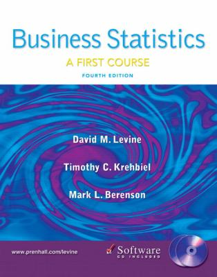 Business Statistics First Course