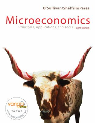 Microeconomics Principles, Applications, and Tools