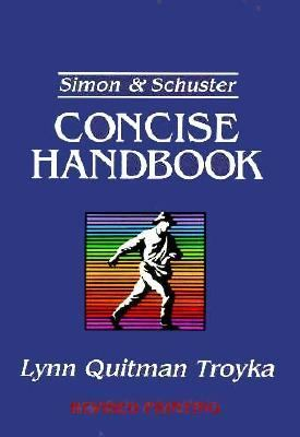 Simon+schuster Concise Handbook,revised