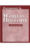 Documents in World History (vol-2),since 1500
