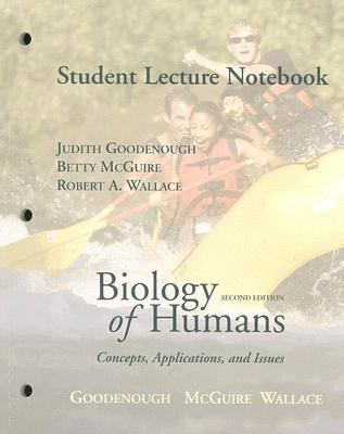 Biology of Humans - Student Lecture Notebook