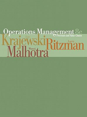 Operations Management Processes and Value Chains