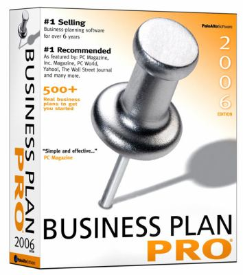 Business PlanPro (Software) New Only