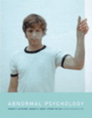 Abnormal Psychology (Canadian Edition) - Thomas F. Oltmanns - Hardcover