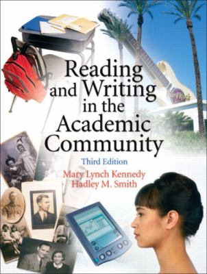 Reading And Writing In The Academic Community