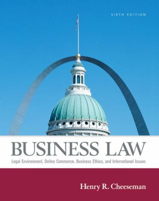 Business Law Legal Environment, Online Commerce, Business Ethics, And International Law