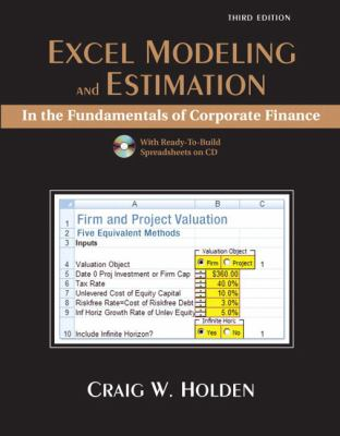 Excel Modeling in the Fundamentals of Corporation Finance