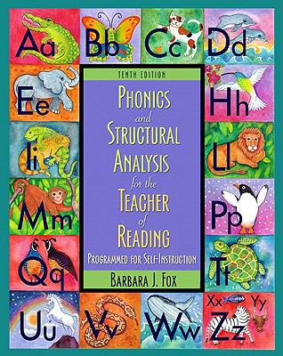 Phonics and Word Analysis for the Teacher of Reading