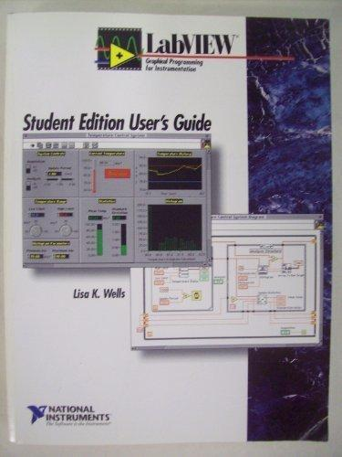 LabVIEW Student Edition : User's Guide
