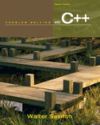 Problem Solving with C++ (8th Edition)