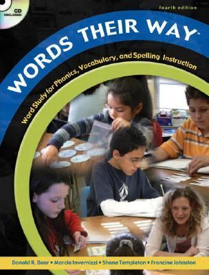 Words Their Way: Word Study for Phonics, Vocabulary, and Spelling Instruction, 4th Edition (Book, CD & DVD)