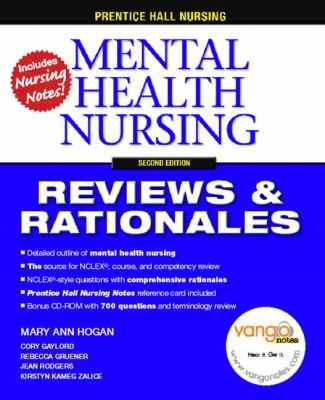 Prentice Hall Nursing Reviews & Rationales Mental Health Nursing Reviews & Rationales