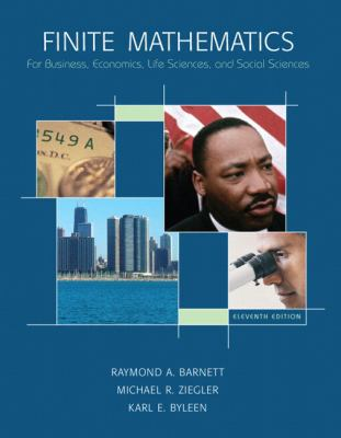 Finite Mathematics for Business, Economics, Life Sciences and Social Sciences, 11th Edition