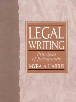 Legal Writing Principles of Juriography