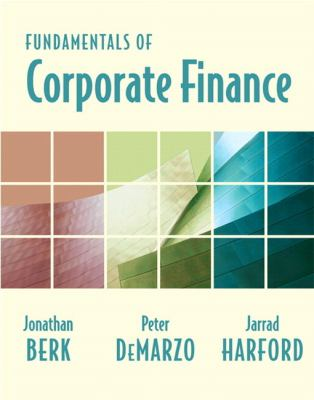 Fundamentals of Corporate Finance and Myfinance Student Access Code Card